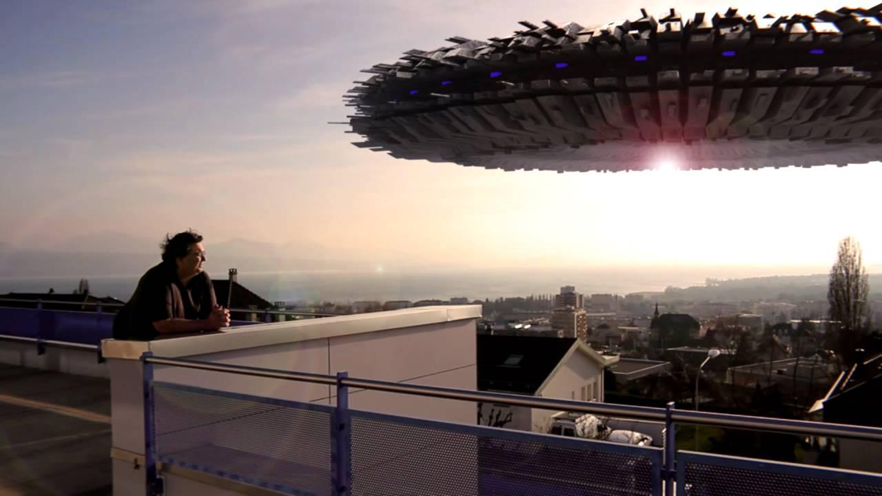 ovni ufo soucoupe volante intégration blender 3d