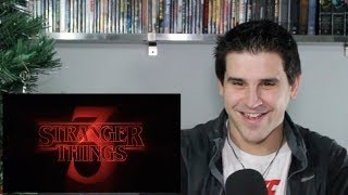Stranger Things - Season 3 Title Tease - REACTION