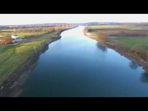 Lage waterstand Maas Land van Cuijk 2016:2017 Ongeluk Grave