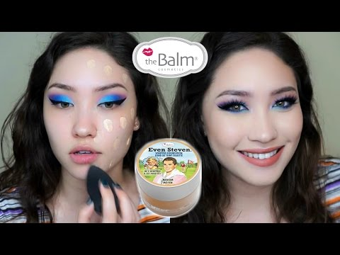 NEW! The Balm EVEN STEVEN Foundation REVIEW + DEMO + WEAR TEST
