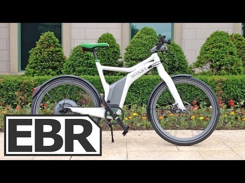 Smart Ebike Video Review – Electric Bike From Smart Mercedes Benz