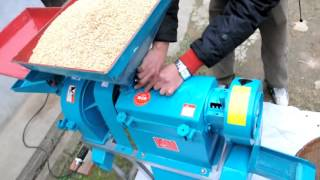 Rice mill working video