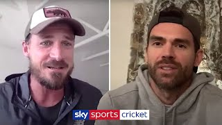 """Jimmy was a more skilful bowler than me!"" 