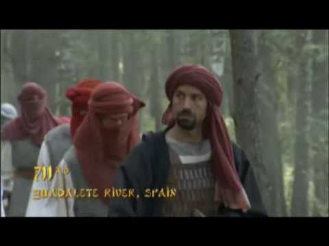 the invasion of muslims in iberian peninsula in 711 The moors were a nomadic people from north africa originally they were the inhabitants of mauretania they invaded spain, taking their islamic religion and culture with them, in 711, where they overran the visigoths they spread northward across the pyrenees into france, but they were turned back by charles martel and.