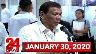 24 Oras Express: January 30, 2020 [HD]