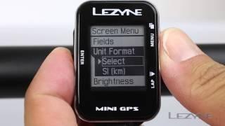 Lezyne Mini GPS Overview