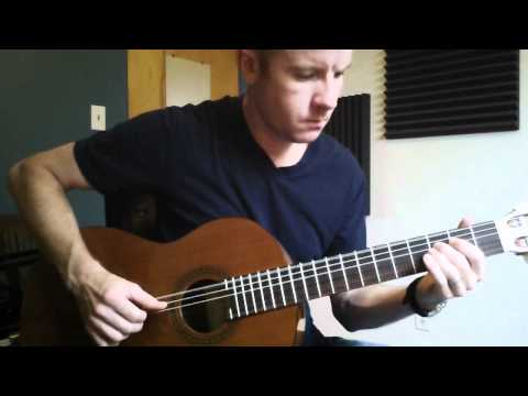 Drive (2011): Nightcall | fingerstyle guitar