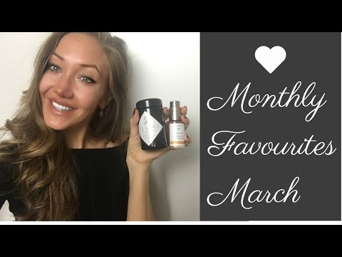 MARCH FAVOURITES | GLOWING SKIN + LONG LASHES