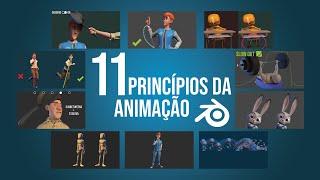 Aula de animação no blender em português com seus princípios...