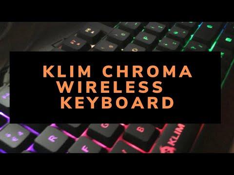 KLIM Chroma Wireless Keyboard - Quick review