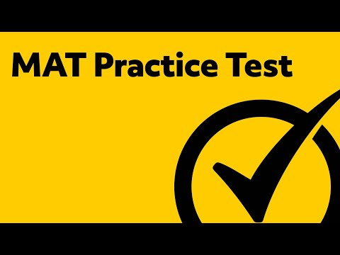 MAT Practice Test - YouTube