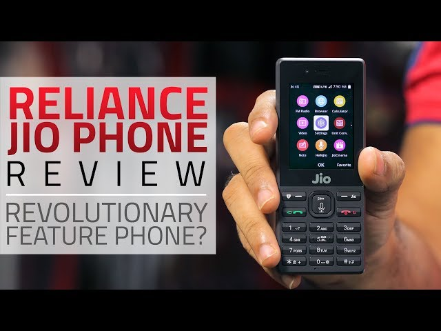 Jio Phone Review | NDTV Gadgets360 com