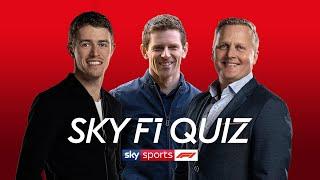 Anthony Davidson vs Paul Di Resta vs Johnny Herbert | Sky Sports F1 Quiz | Heat 4