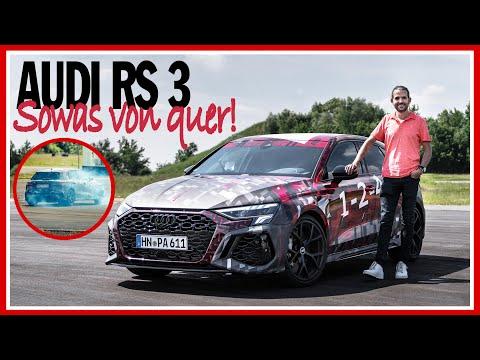 Sowas von QUER im NEUEN Audi RS 3 Prototypen (2022) mit Torque Splitter und 5-Zylinder!