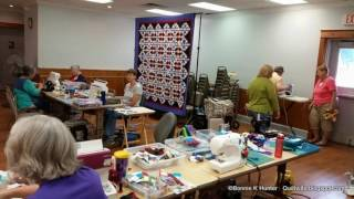 Cathedral Stars, Common Threads Quilters, Newnan, GA 2016