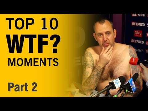 Snooker: TOP 10 WTF moments EVER! (Part 2)
