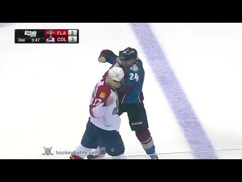 Marc-Andre Cliche vs. Derek MacKenzie
