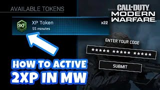How to Get, Redeem and Activate Double XP Codes in Modern Warfare
