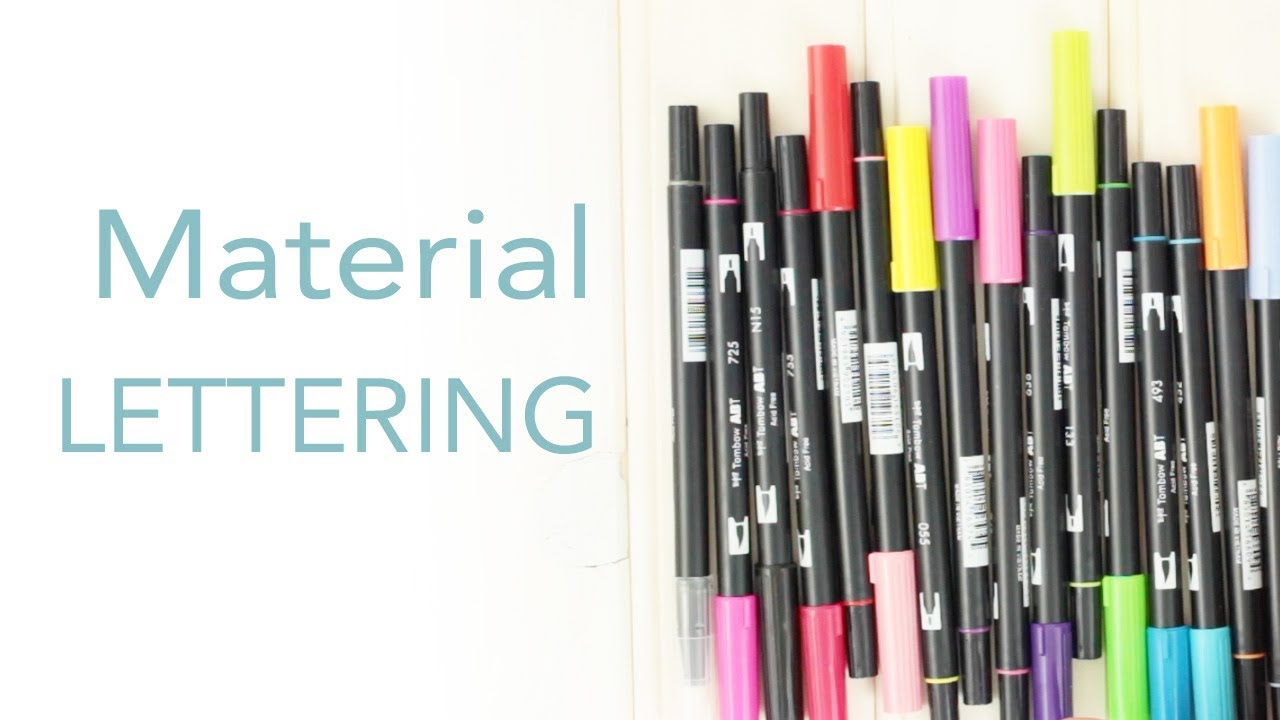Material Lettering | Sorpresa final