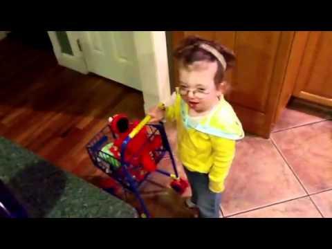 Julia takes Elmo to the doctor