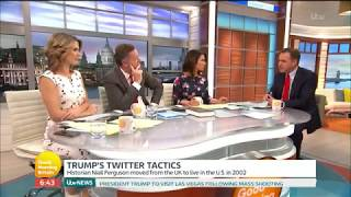 Niall Ferguson Gives Insight into Donald Trump's Success | Good Morning Britain (2017)