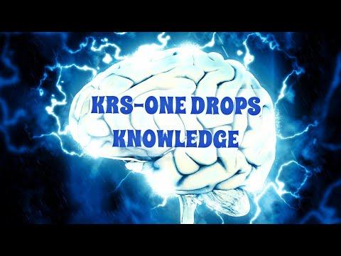 KRS-ONE Drops Knowledge
