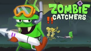 ОХОТА на ЗОМБИ игровой мультик про Зомби Игра Для Детей ЛОВИМ ЗОМБАРЕЙ в  игре Zombie Catchers #2