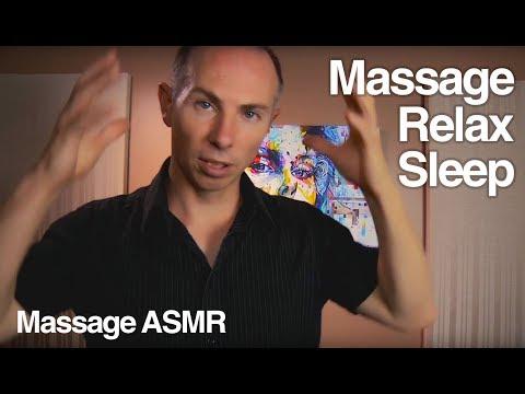 ASMR Head Massage Role Play to Relax, Reduce Headache & Sleep