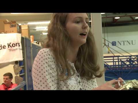 Sunnmøringene vant hele konkurransen og ble Årets skipsdesigner 2017. Video: Ingvil Snøfugl