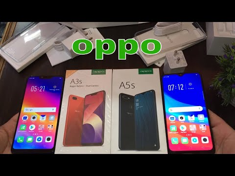 Oppo A5s vs Oppo A1k Unboxing,review,Full compare and faceunlock