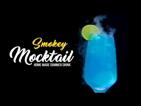 Video Magical Smokey Mocktail | Amazing Smoking Drink with Dry Ice | Online Kitchen | WOW Recipes