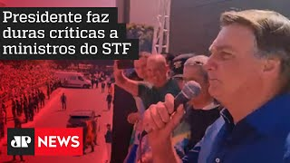 Ouça discurso do presidente Jair Bolsonaro na Avenida Paulista, em São Paulo