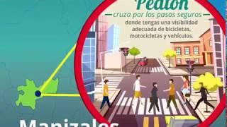 Miniatura Video Vuelta a Colombia, pedagogía peatones
