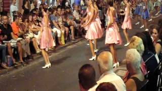 preview picture of video 'Desfile Santa Pola (06-09-2012)- Marsport - MARISOLES'