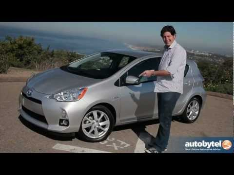 2012 Toyota Prius c: Video Road Test and Review