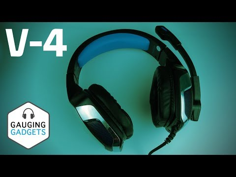 Bengoo V-4 Gaming Headset Review and Mic Test - HunterSpider V-4 Headphones
