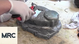 How to Paint a Motorcycle Engine Cover
