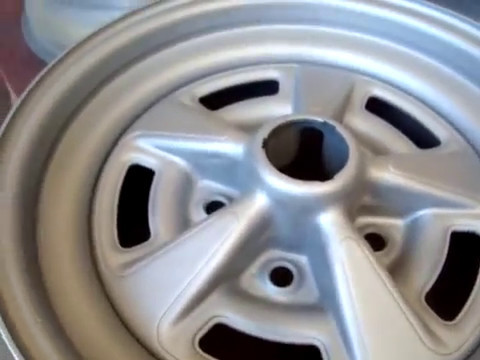 Pontiac Rally Wheels Part 1