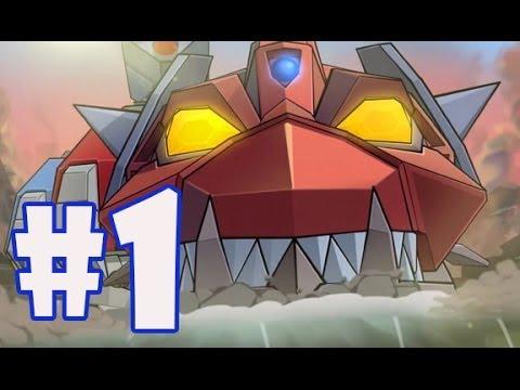 Colossatron: Part-1 Massive Threat Targets Location 1-Metronia Beginning Gameplay