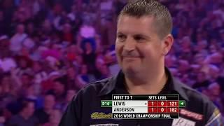 BACK-TO-BACK CHAMP! Anderson v Lewis | 2016 World Darts Championship