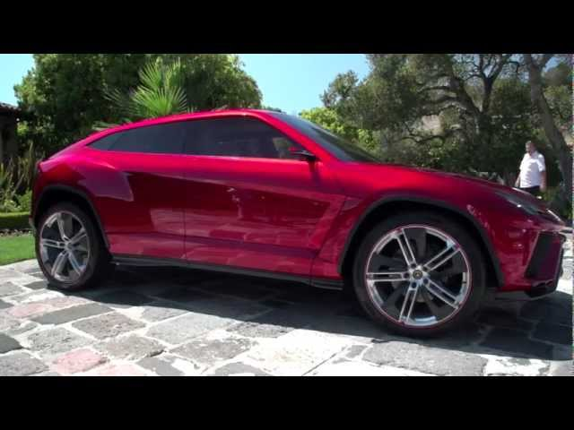 Pebble Beach 2012: Lamborghini Concepts - Jay Leno's Garage