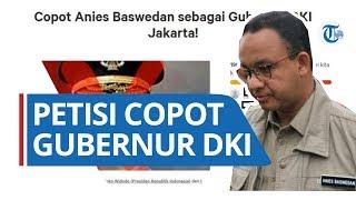 Banjir DKI Jakarta, Petisi Copot Anies Baswedan Viral, 200 Ribu Orang Sudah Beri Tanda Tangan