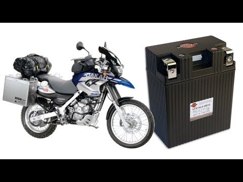 How to replace the battery in a BMW F650 GS Dakar