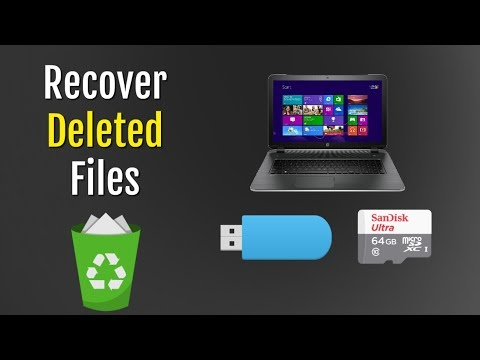 How To Recover Deleted Data For Free From PC / Sd Card / USB