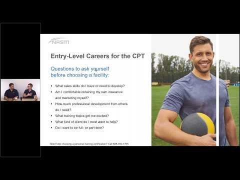 5 Steps to Choosing a Career Path as a Personal Trainer - YouTube