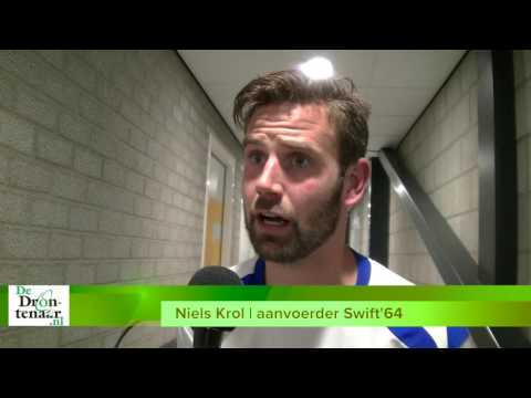 VIDEO | Niels Krol: Swift'64 gaat donderdag in Elburg 200.000% geven