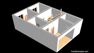 20x30 Plan For 9 Lac Small House Design Plan  II 600 Sqft House Plan II Ghar Ka Naksha 2020