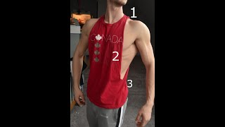 T-Shirt To Bro Tank In 3 Easy Steps (Cut Off T-Shirt / Gym Tank)