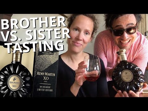 Brother vs. Sister review Cognac Rémy Martin's XO Cannes Edition vlog #1