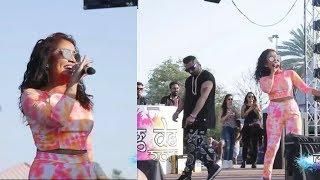 Yo Yo Honey Singh and Neha kakkar Live Show at ## Holi ##